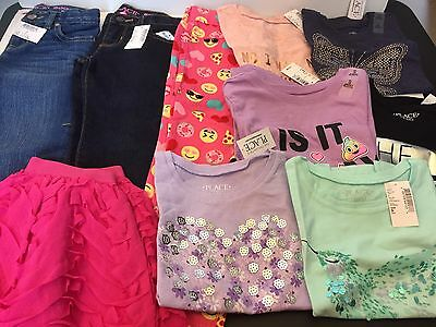 10  Piece Lot Of Girls Clothes Size 5 5/6  New With Tags The Childrens Place