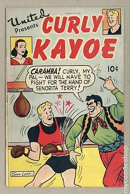 United Presents Curly Kayo (1948) #1948 GD/VG 3.0