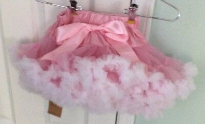 Adorable Pink And White Dress Up Crinoline TuTu NWT Size S KIREI SUI