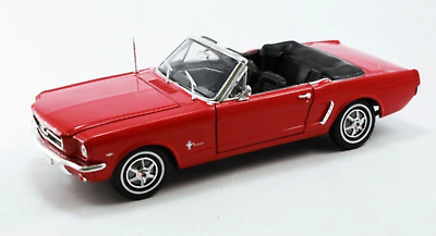 Welly Diecast Dw12519R 1:18 1964-1/2 Mustang Conv. Red