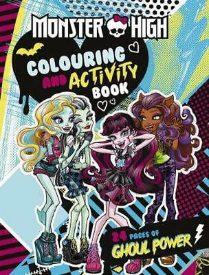 Monster High: Colouring and Activity Book Paperback Book Free Shipping!