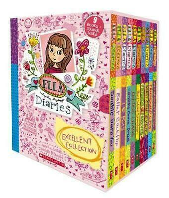 Ella Diaries Excellent Collection by Meredith Costain (English) Paperback Book F