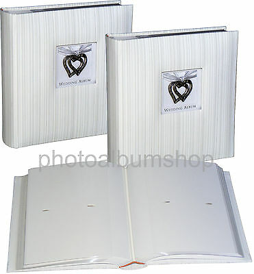 2 x Wedding Hearts 6x4 slip-in 200 photo albums * TWO PACK