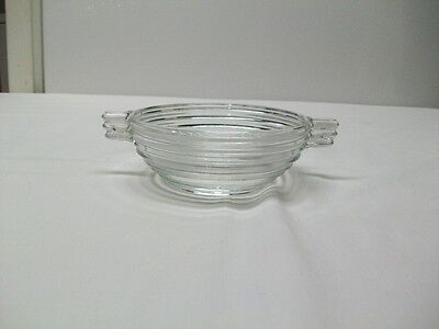 "Vintage Anchor Hocking Manhattan Park Avenue 4 1/2"" Handled Sauce Bowl"