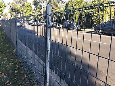 Rolled top galvanized Steel Mesh Fence Panel 0.9 m x 2.4 m---$45.00/each