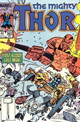 Thor (1962-1996 1st Series Journey Into Mystery) #362 FN