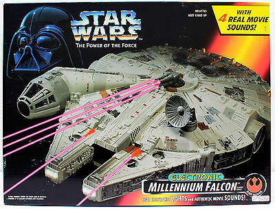 Star Wars Power Of The Force A New Hope Millennium Falcon Hasbro