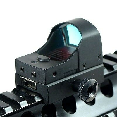 Red Dot Sight Tactical Mini Holographic Reflex Micro 3 MOA  w/Picatinny Weaver