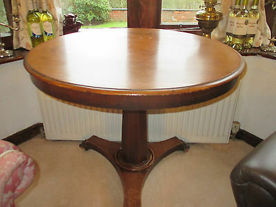Attractive Victorian Tilt Top Pedestal Tea Table