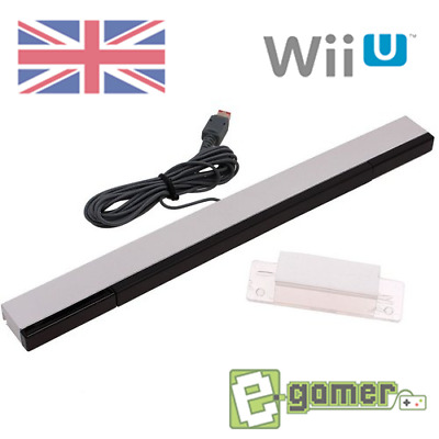 Nintendo Wii Replacement Wired Wii U Sensor Bar Including Stand UK STOCK