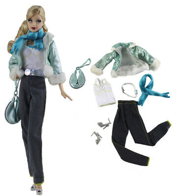 7in1 Set Fashion clothes//outfit Casual wear For 11.5in.Doll
