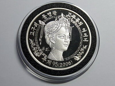 Korea 2006, Goguryeo Mother of Dongmyung King 1500 Won, 1 oz Silver proof