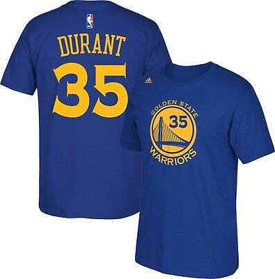 NBA Official Kevin Durant #35 Golden State Warriors T-shirt