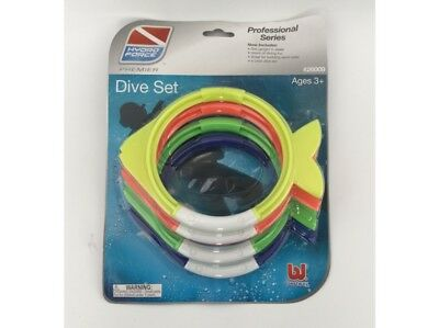 Bestway Dive Fish Ring Set 4 Pieces New Toy Swimming