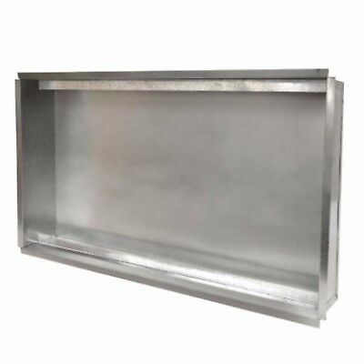 Master Flow 20 x 25 inch Return Air Filter Rail Box Ventilation Vent Duct HVAC