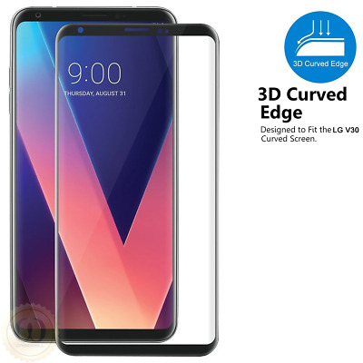 For LG V30 / V30 Plus / V30S ThinQ - 3D Curved Tempered Glass Screen Protector