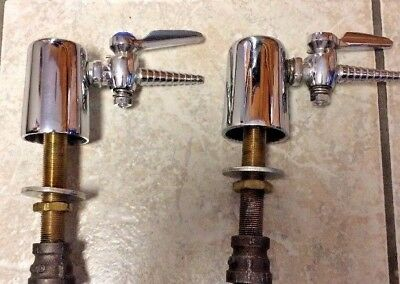 Chicago Faucets single handle gas valves, used for natural gas bunsen burners