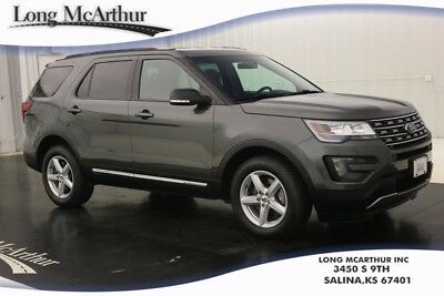 2016 Ford Explorer XLT AWD 6 SPEED AUTOMATIC 4 DOOR SUV MRSP $36295 INTELLIGENT ACCESS WITH PUSH BUTTON START BLUETOOTH SIRIUS PRIVACY GLASS