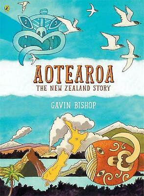 Aotearoa: The New Zealand Story by Gavin Bishop Hardcover Book Free Shipping!