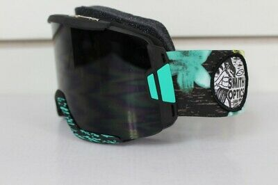 New 2015 Smith Squad Ski Snowboard Goggles Black Burnout with Blackout Lens