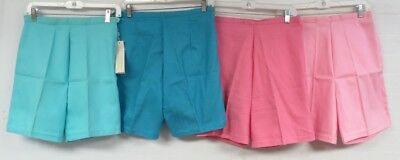 NWT Lot of 4 Vintage 60s 70s DEADSTOCK Shorts High Waist Bermuda Pin Up S/M