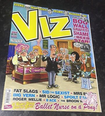 Viz Comic Magazine Issue 269 October 2017