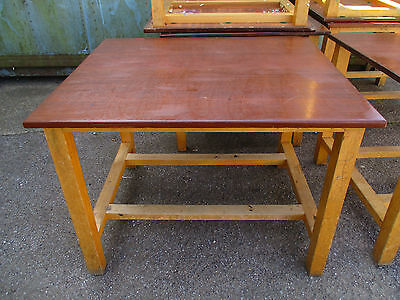 Tables School science lab tables desks workbench cafe table 48x 24x 34-32 Tall