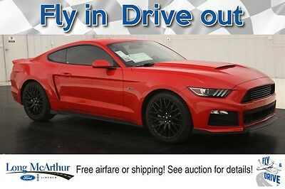 2017 Ford Mustang ROUSH RS V6 MUSTANG RACE RED MSRP $31410 ROUSH UPGRADES INCLUDE FRONT FASCIA WITH AERO POCKETS AND SHIFTER BALL