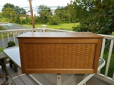 Longaberger Woven Panel Chest