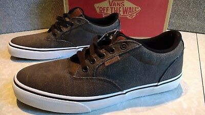 527efabe74a MSRP Mens Vans Winston DX Washed Twill Lace Up Shoes