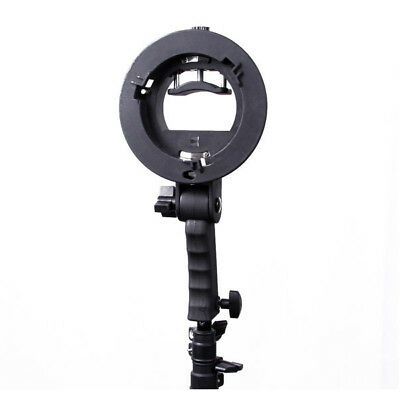 Bracket Pro Mount Adapter Holder for Speedlite Snoot Flash Softbox P4Z2