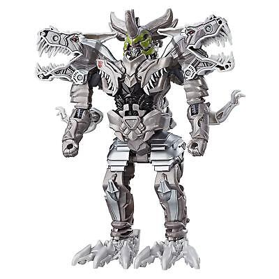 NEW Transformers The Last Knight Armor Turbo Changer Grimlock T-Rex Robot Hasbro