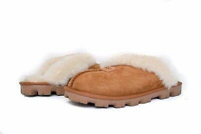 UGG Women COQUETTE SLIPPERS Slip on in CHESTNUT Sz 5-12 5125 NEW