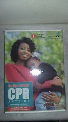 Family and Friends CPR Anytime by American Heart Association Dark Skin NEW