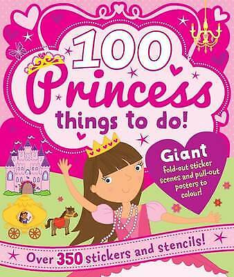 Spiral Bound Activity 100 Princess Things to Do, Bill Boo, New