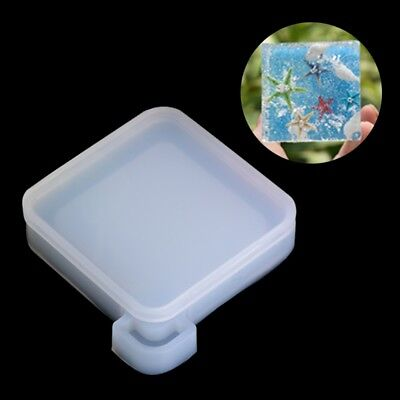 Resin Mudboard Silicone Mold Pendant Mould Jewelry Making Tool Fondant Cake DIY