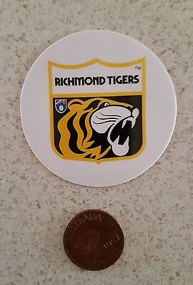 Richmond tigers AFL VFL australian footy sticker