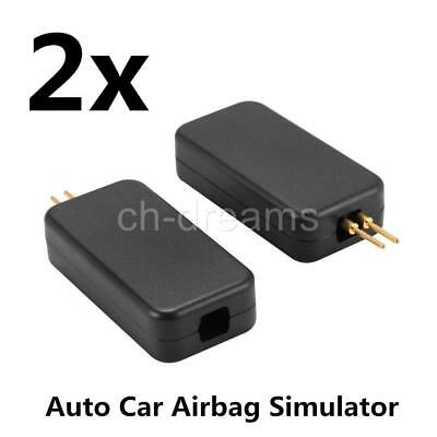 2x Cars Airbag Air Bag Simulator Emulator Bypass SRS Fault Finding Diagnostic