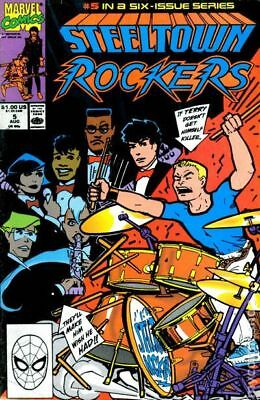 Steeltown Rockers (1990) #5 VF