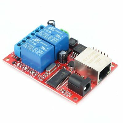 LAN Ethernet Relay Board Delay Switch TCP/UDP Controller Module WEB Server Q2