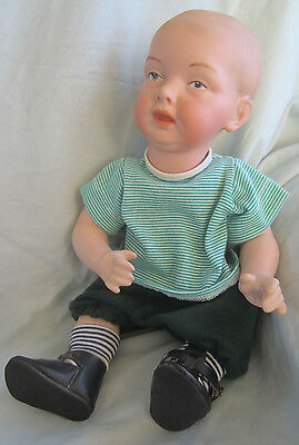 Vernon Seeley 1976 reproduction porcelain doll Eineo? Clothed
