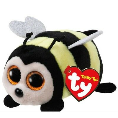 "TY Beanie Boos Teeny Tys 4"" ZINGER Bee Stackable Plush Stuffed Animal Toy MWMT's"
