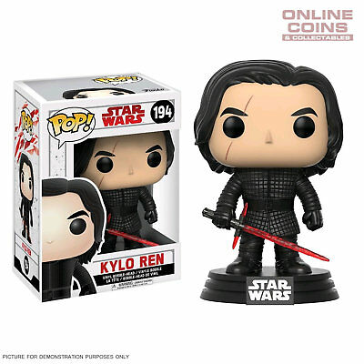 Star Wars - Kylo Ren Episode VIII The Last Jedi Pop Vinyl Funko #194