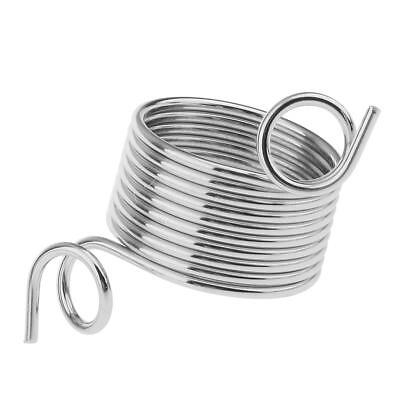 Metal Silver Wire Yarn Stranding Guide Knit Thimble for DIY Knitting Craft