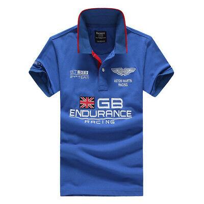 New Hackett Aston Martin Racing GB Team Men's Polo Shirt