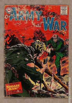 Our Army at War (1952) #62 GD- 1.8