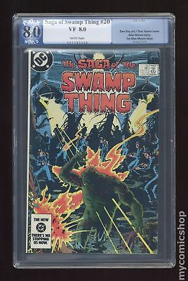 Swamp Thing (1982 2nd Series) #20 PGX 8.0