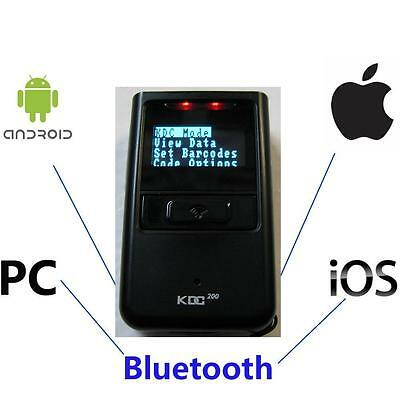 Koamtac KDC200i Bluetooth Barcode Scanner iOS Android Smart Phone iPhone