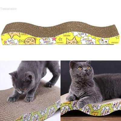 Jouets pour chat Carton ondulé Cat Scratcher Seize Scratch Bed Mats Pet TCNT