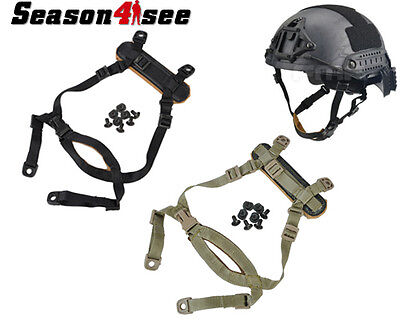 FMA Tactical Suspension System H-Nape for MICH Helmet Military Chin Strap Gear
